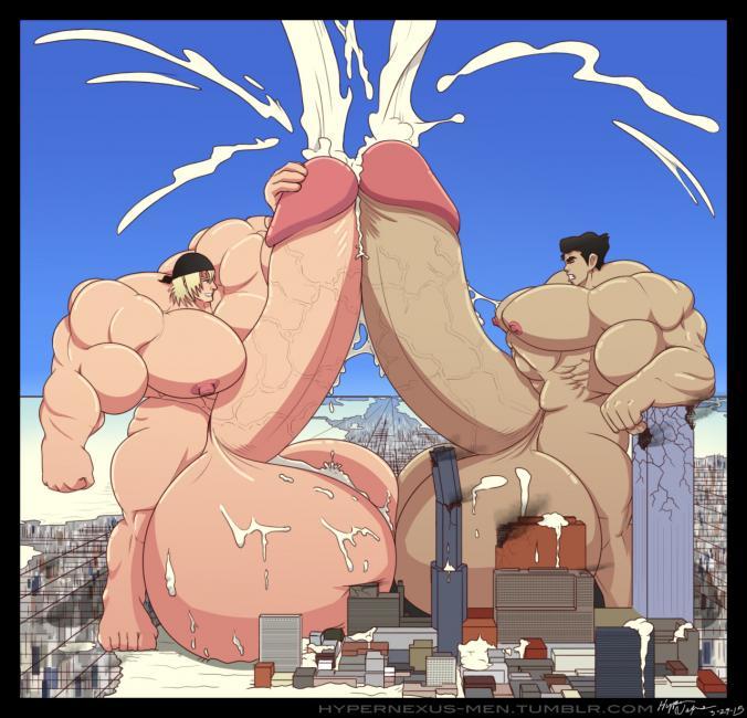 Anime Guys Huge Cock