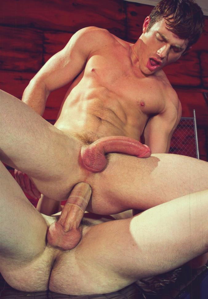 Huge monster cock gay porn