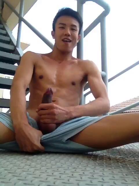 Big fat asian cock