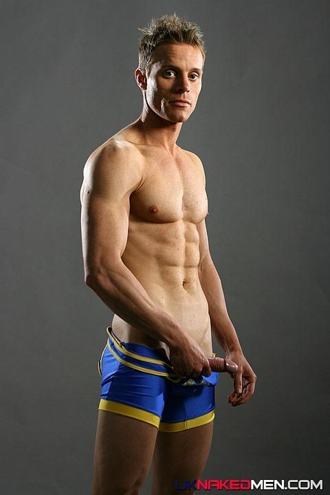 [Photo Set] Super ripped Neil Rush poses for UK Naked Men .