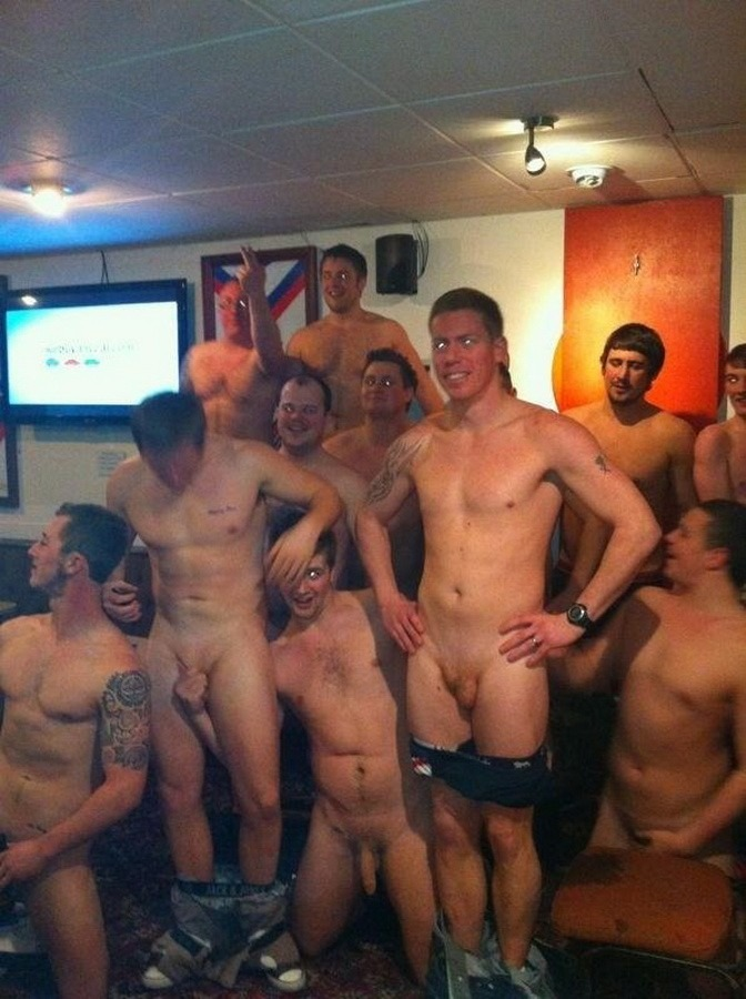 Naked boys party