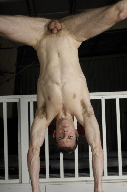Naked Hand Stand