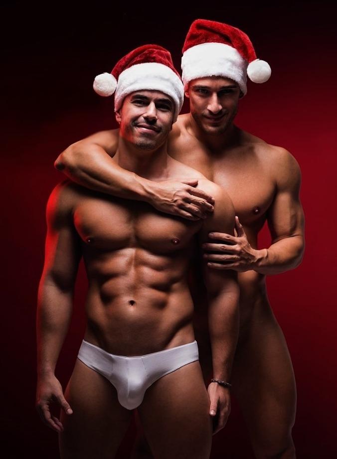 Santa dirty gay boys