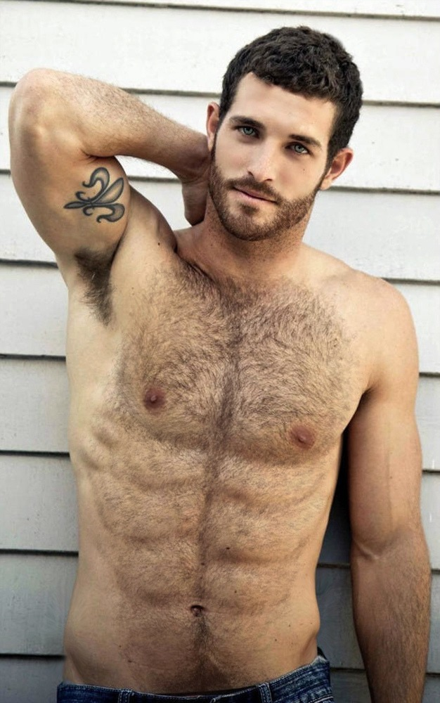 Smooth hairy men