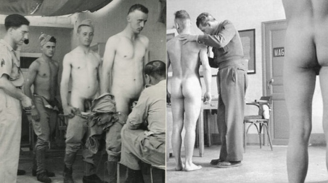Vintage Army Nude lægeundersøgelse Httpwwwmyownprivatelockerro-3120